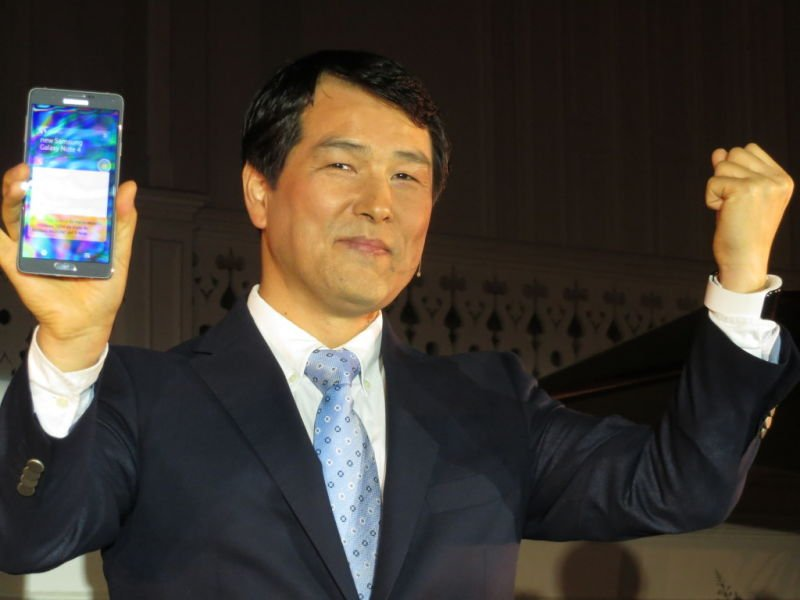 Galaxy Note 4 con Joseph Park