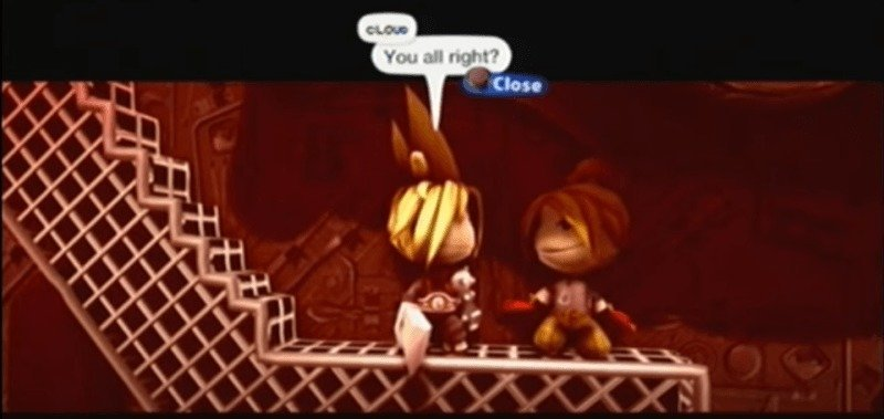 Final Fantasy VII en Little Big Planet 2