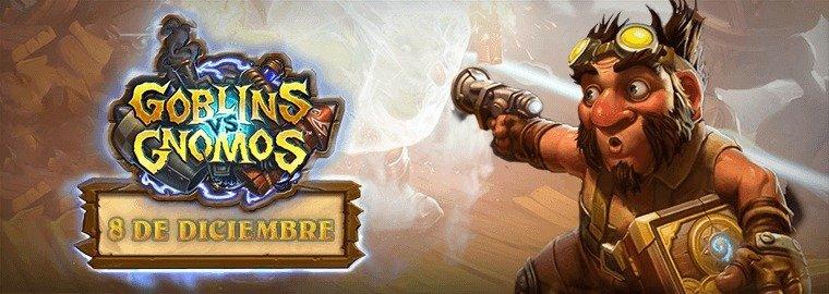 Goblins vs Gnomos de Blizzard cobra vida el 8 de diciembre