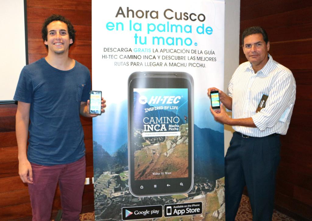 Foto Lanzamiento de App Guía Hi-TEC Camino Inca