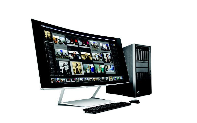 HP Envy 34c (también llamado el Z34c), una pantalla curva de 34 pulgadas con 21: 9.