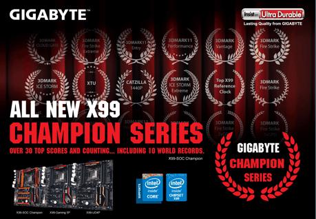 All new x99 champion series