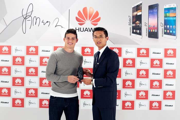 James-Rodríguez-embajador-de-marca-Huawei-exclusivo-para-Colombia