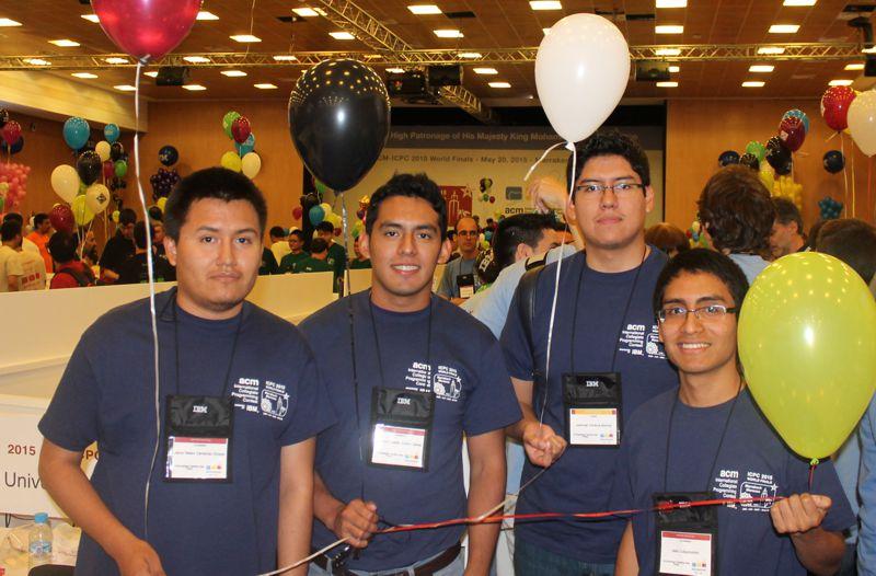 Foto Participantes UCSP en ICPC