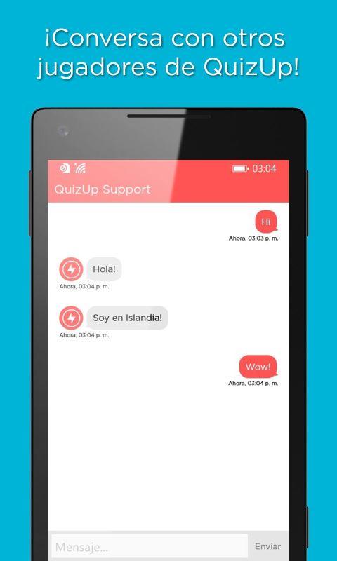 QuizUp para WinStore-Phone 8-la-Chat