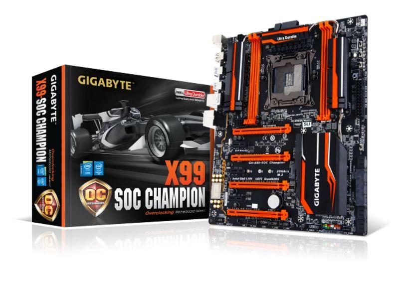 motherboards de serie 9 y X99 G1T Gaming DE gIGABYTE