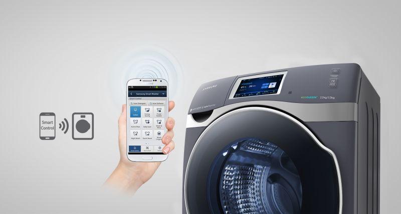 Lavadora Smart de Samsung .fot02