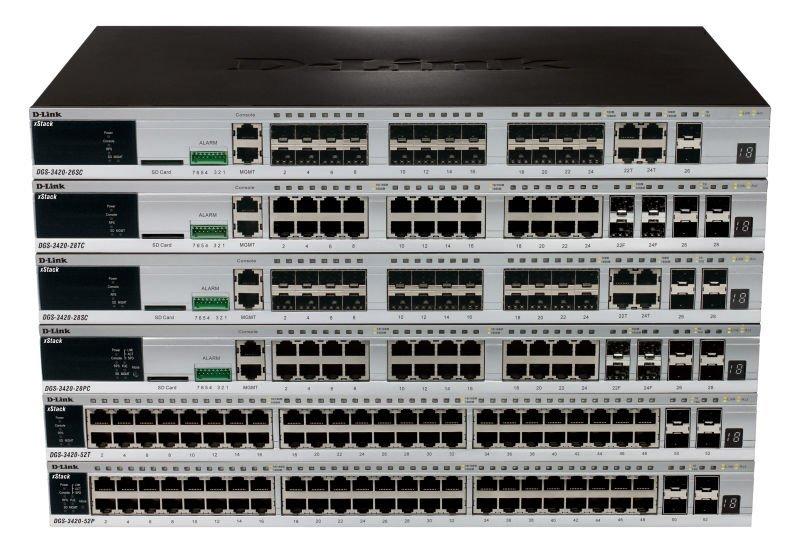 DGS-3420-26SC+28TC+28SC+28PC+52P+52T_A1_Image L(Front)