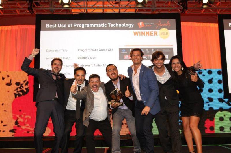 Cadreon y Audio Ad ganan en FOMLA Awards