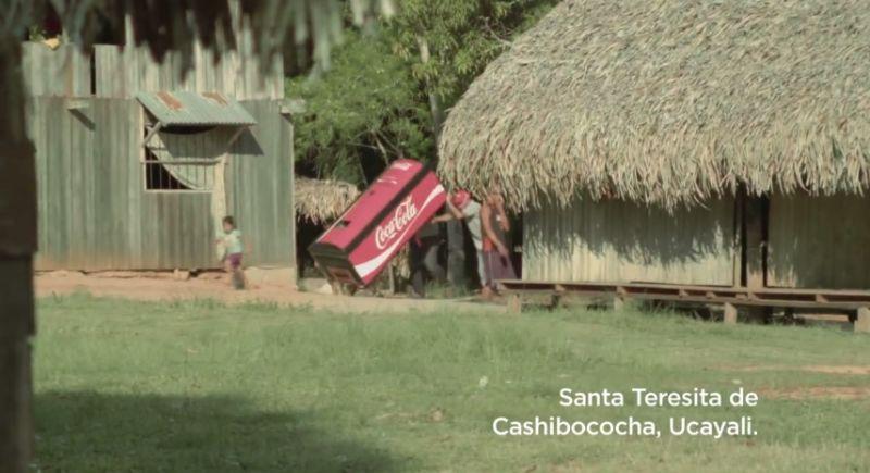 Comparte una Coca-Cola - Comunidad Shipiba