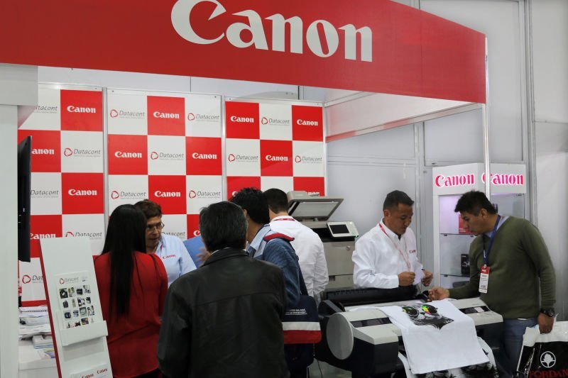 Datacont y Canon en expotextil