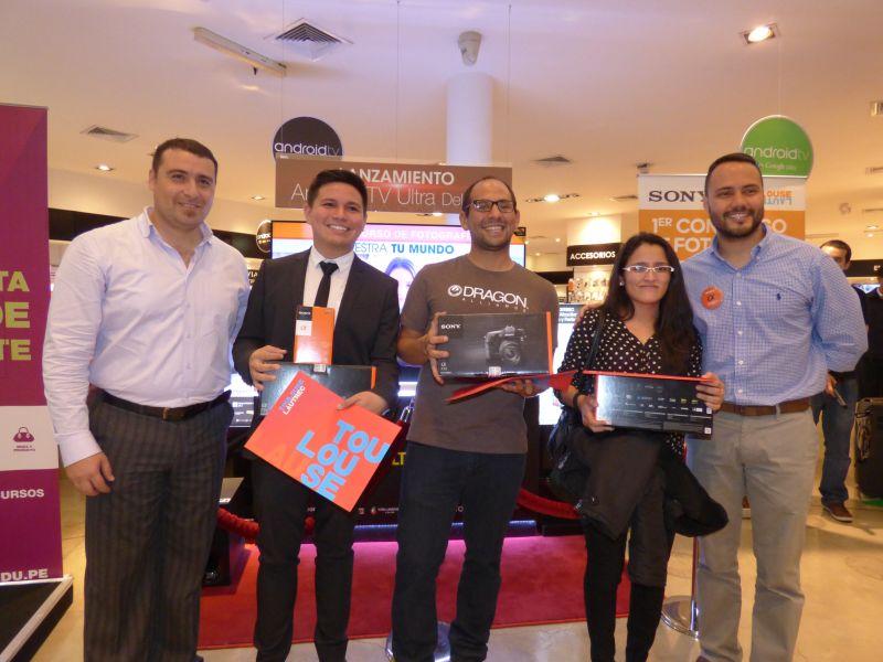Ganadores del concurso de Sony y TLS
