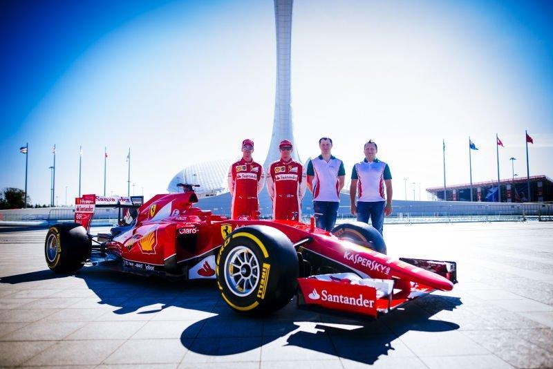 Kaspersky_ejecutivos_Ferrari_pilotos