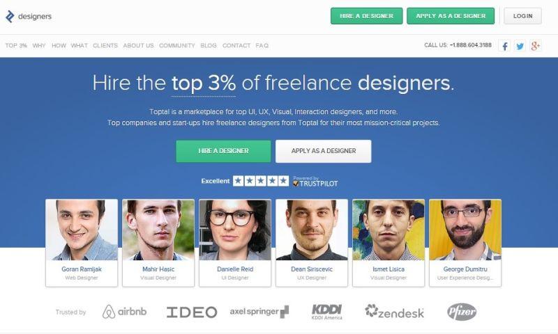 Toptal - Designers
