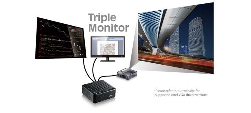 beebox-3 monitores
