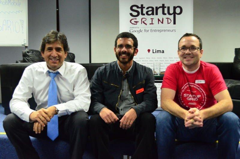 Luis Terrones, Gerente de Desarrollo de Cofide; Rodrigo Corquis, Gerente General de Green Tech Innovations y Rob McMillen, director general de Kickstart Perú y director general de Alta El-Dorado Emprendimiento