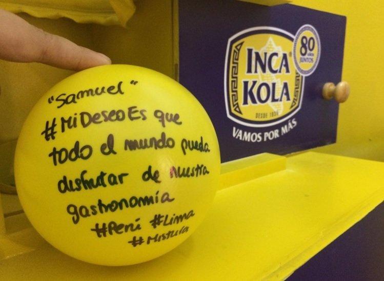 #mideseoes Inca Kola