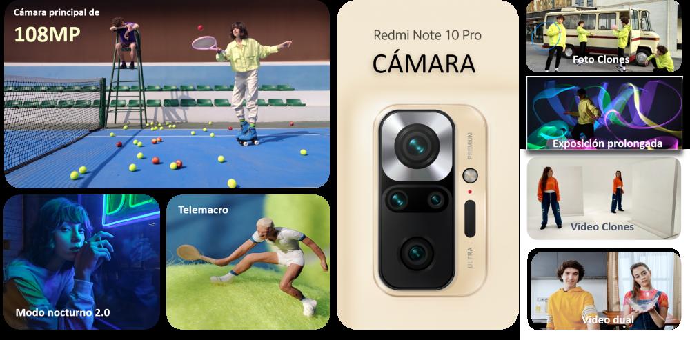 5 opciones creativas del Redmi Note 10 Pro para fanáticos del contenido en redes sociales