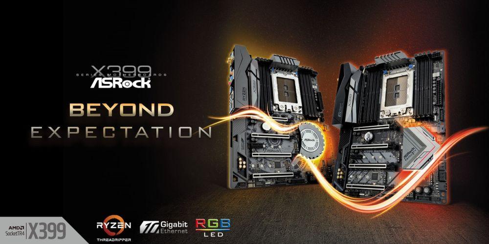 ASRock X399 Motherboards