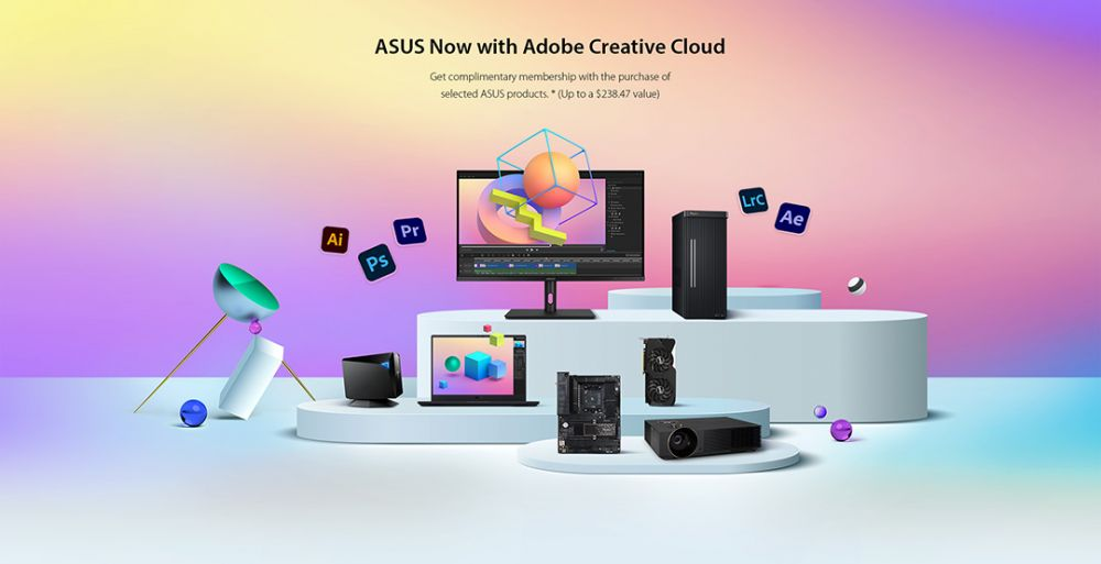 ASUS-Adobe-Bundle-Program