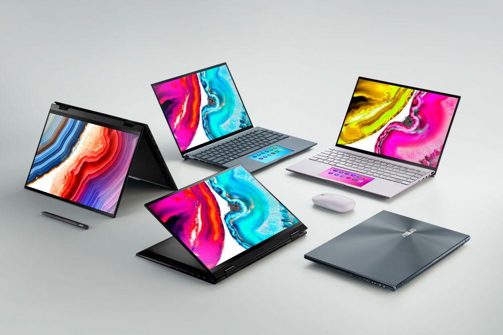 ASUS lanza el portafolio de laptops con pantalla OLED más completo del mundo