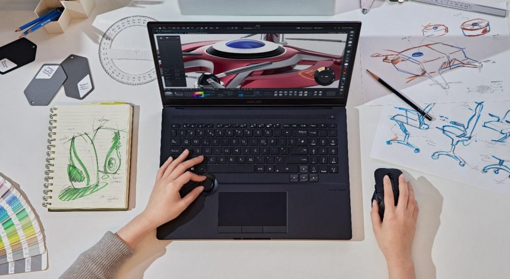 ASUS presenta Laptops para Creadores con increíbles innovaciones