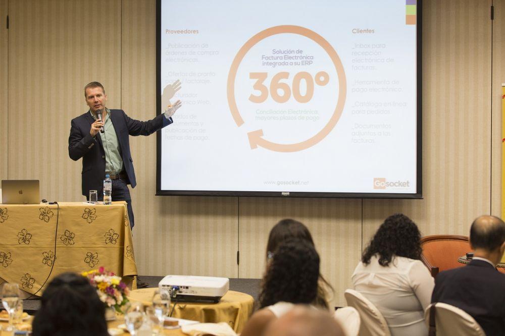 Sergio Chaverri, Gerente de Marketing de Gosocket Latinoamérica