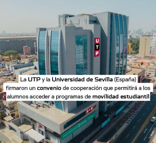 Convenio UTP y Universidad de Sevilla