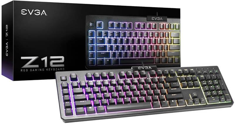 EVGA anuncia su teclado para gaming Z12