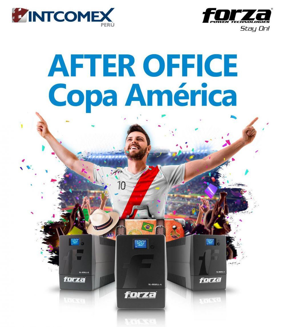 Forza e Intcomex celebran con el Perú-arte After Office