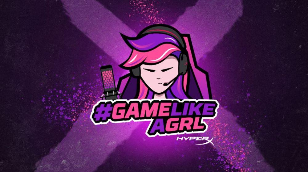Game like a Girl HyperX