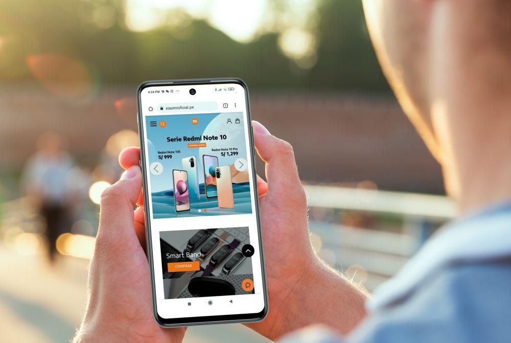 Gráfica Nuevo e-commerce