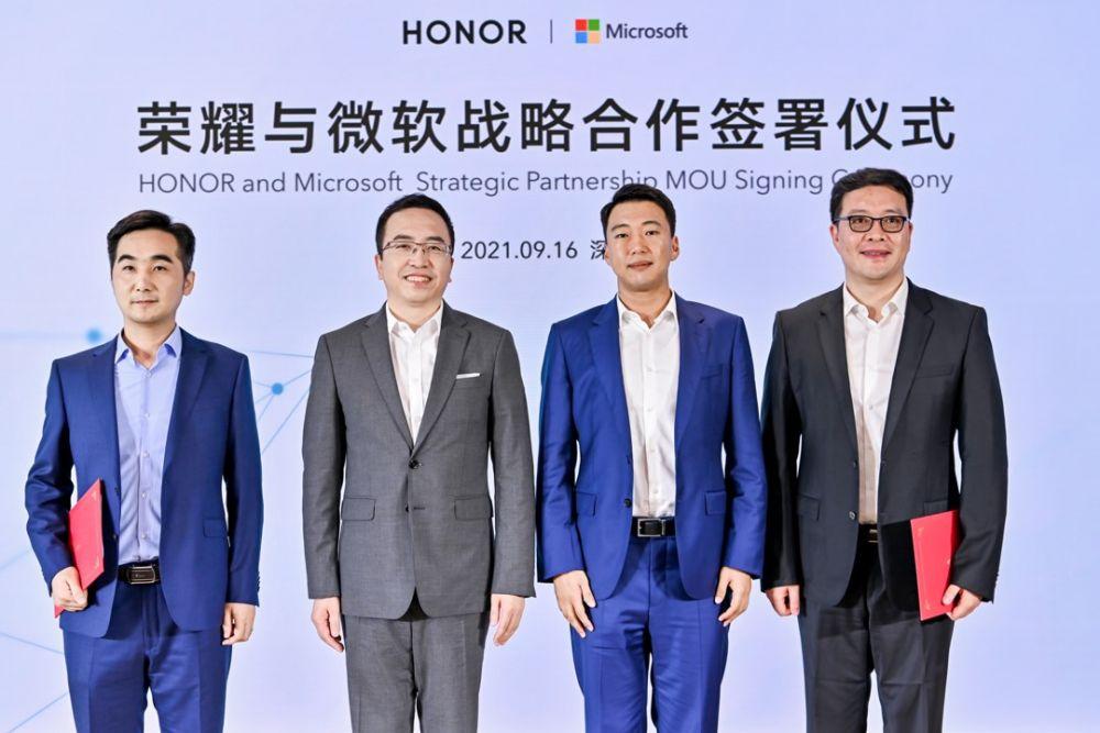 HONOR y Microsoft grupal