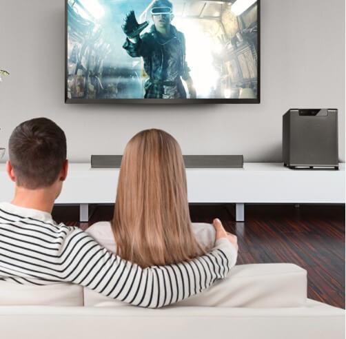 Home theater en casa