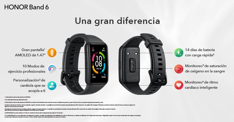 La HONOR Band 6 llega primero a Perú con funciones premium de monitoreo de salud