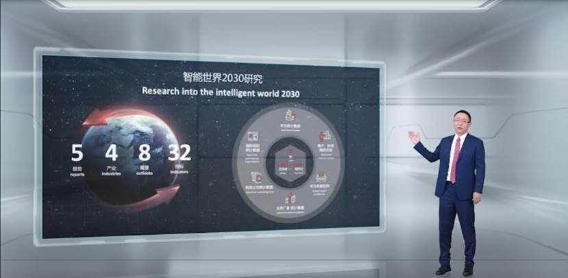 Huawei publica el informe Intelligent World 2030