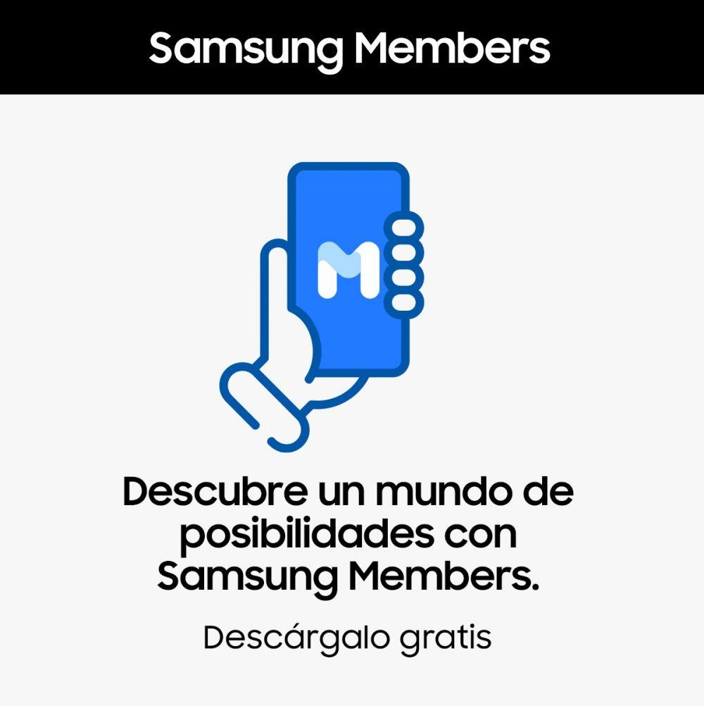 Samsung ofrece soporte técnico a través de Samsung Members para TVs y dispositivos Galaxy