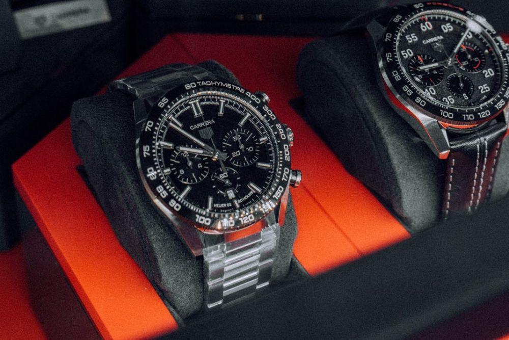 Presentación en Perú del 911 Turbo S y la nueva colección de relojes TAG Heuer
