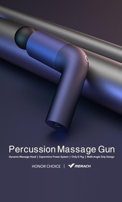 Pistola de masajes