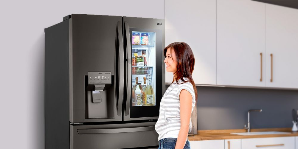 LG Instaview Door-In-Door con Craft Ice una refrigeradora ideal para la vida moderna