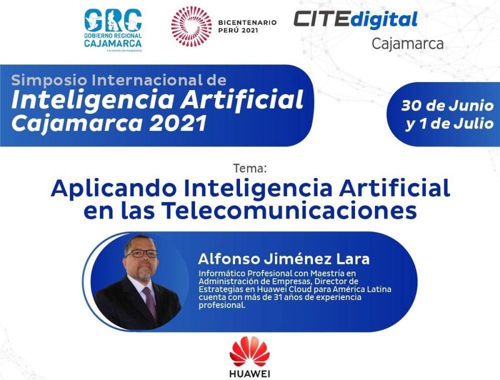 NP - Huawei en Simposio Internacional de IA Cajamarca 2021