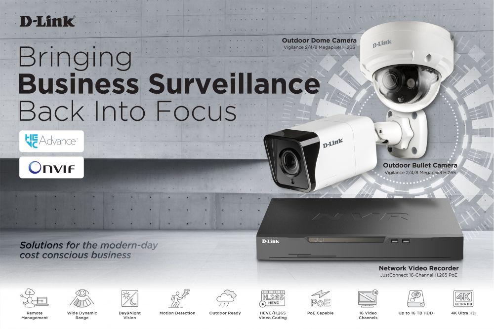 Nuevas cámara de vigilancia - D-Link