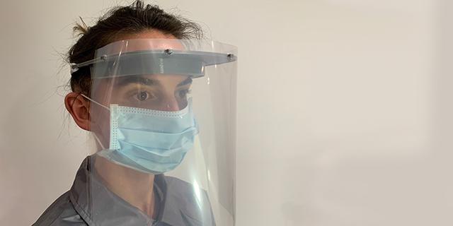 Protector de la cara