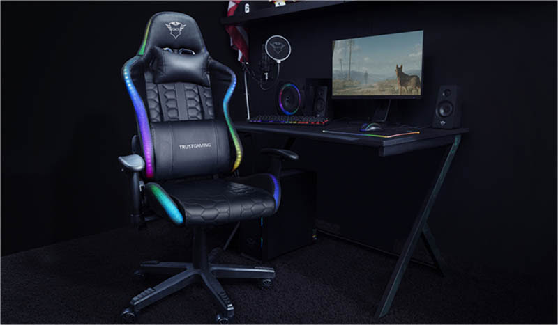 Trust anunció la llegada a América Latina de sus nuevas sillas para gaming GTX 716 Rizza GXT 712 Resto Pro y GTX 708 Resto