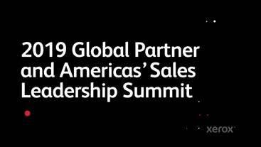 Xerox Global Summit