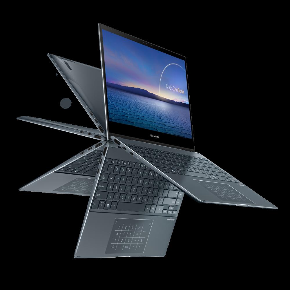 ZenBook Flip 13_UX363_Product photo_2G_Pine Grey_28_NumberPad