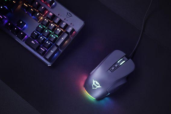 mouse Graphin y Morfix de Trust Gaming