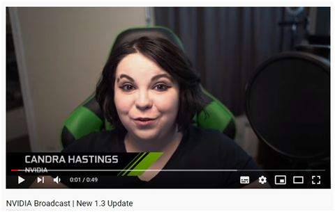 Mejora tus streamings y videollamadas con la nueva actualización de NVIDIA Broadcast