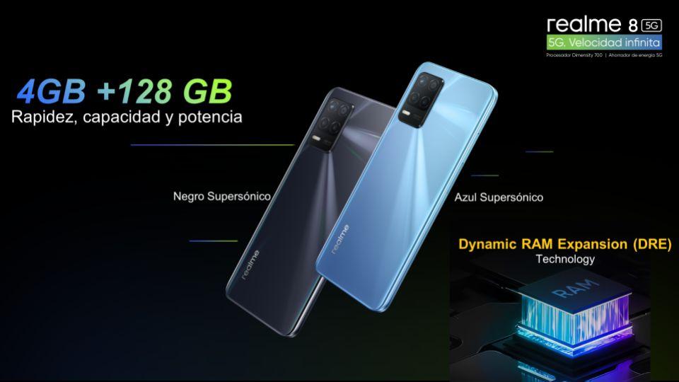 realme 8 5G - 4GB + 128GB
