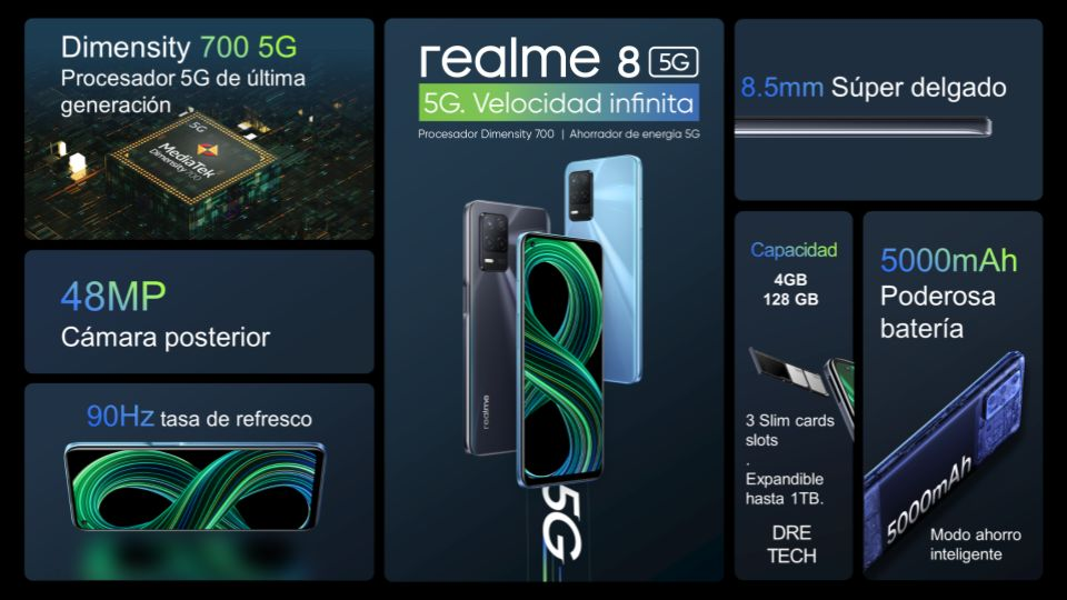 realme 8 5G resumen